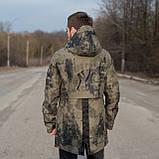 Чоловіча демісезонна куртка New York, кольору хакі, фото 2