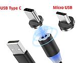 Магнитный кабель шнур зарядки магнитная зарядка USB Type C  ( длинна 100 см ), фото 3