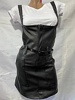 """Сарафан жіночий модний еко шкіра, розміри 42-48 """"EXCLUSIVE"""" недорого від прямого постачальника"""