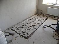 Демонтаж пола Снос полов Слом напольных покрытий, фото 1