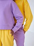 Спортивный костюм женский пудра, меланж, фиалка, желтый 42-44, 44-46, фото 8