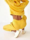 Спортивный костюм женский пудра, меланж, фиалка, желтый 42-44, 44-46, фото 4