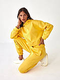 Спортивный костюм женский пудра, меланж, фиалка, желтый 42-44, 44-46, фото 7