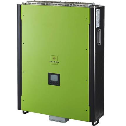 Гибридный инвертор AXIOMA ISGRID 15000 (15 кВт 3 фазы 2 МРРТ), фото 2