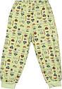 Дитяча піжама зростання 86 1 рік-1,5 року інтерлок салатовий на хлопчика для малюків ТН-179, фото 3
