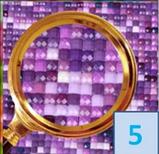 """Алмазная мозаика """"Замок"""", картина стразами 40*50см, фото 6"""