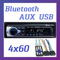 Автомагнитола с Блютуз 1DIN Pioneer JSD 520 AUX USB Bluetooth