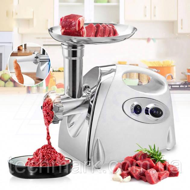 Мясорубка Rainberg RB-675 3800Вт с соковыжималкой насадка для томатов Белая