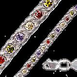 Арабський Бісмарк з кольоровими каменями, фото 3