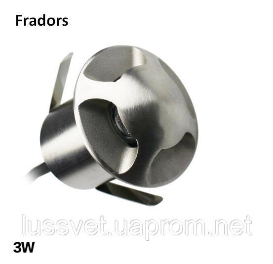 Светильник для подсветки Fradors 220V 3W IP67 52mm алюминий