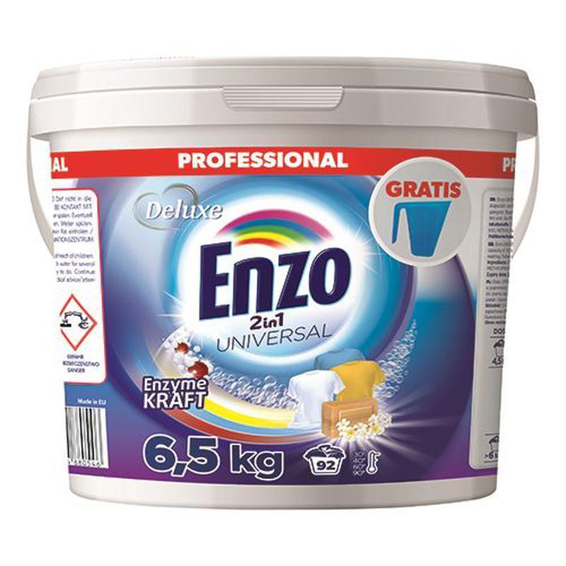 Стиральный порошок универсальный 2 в 1 Deluxe Enzo Uniwersal, 6.5 кг