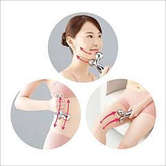 Роликовый 3D массажер лифтинг-эффект для тела и лица