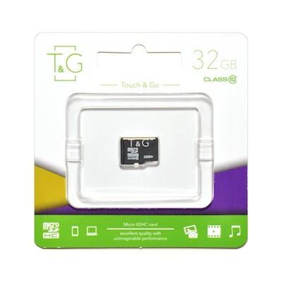 Карта памяти MicroSDHC 32GB UHS-I Class 10 T&G (TG-32GBSD10U1-00)