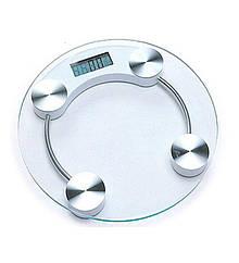 Весы бытовые стеклянные круглые BITEK 180кг YZ-1603A