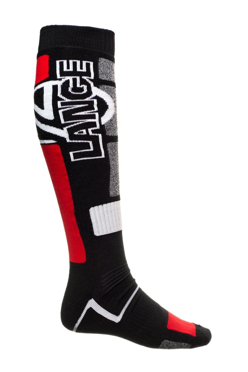 Шкарпетки лижні Lange LKDMX01 45-47 Black-Red