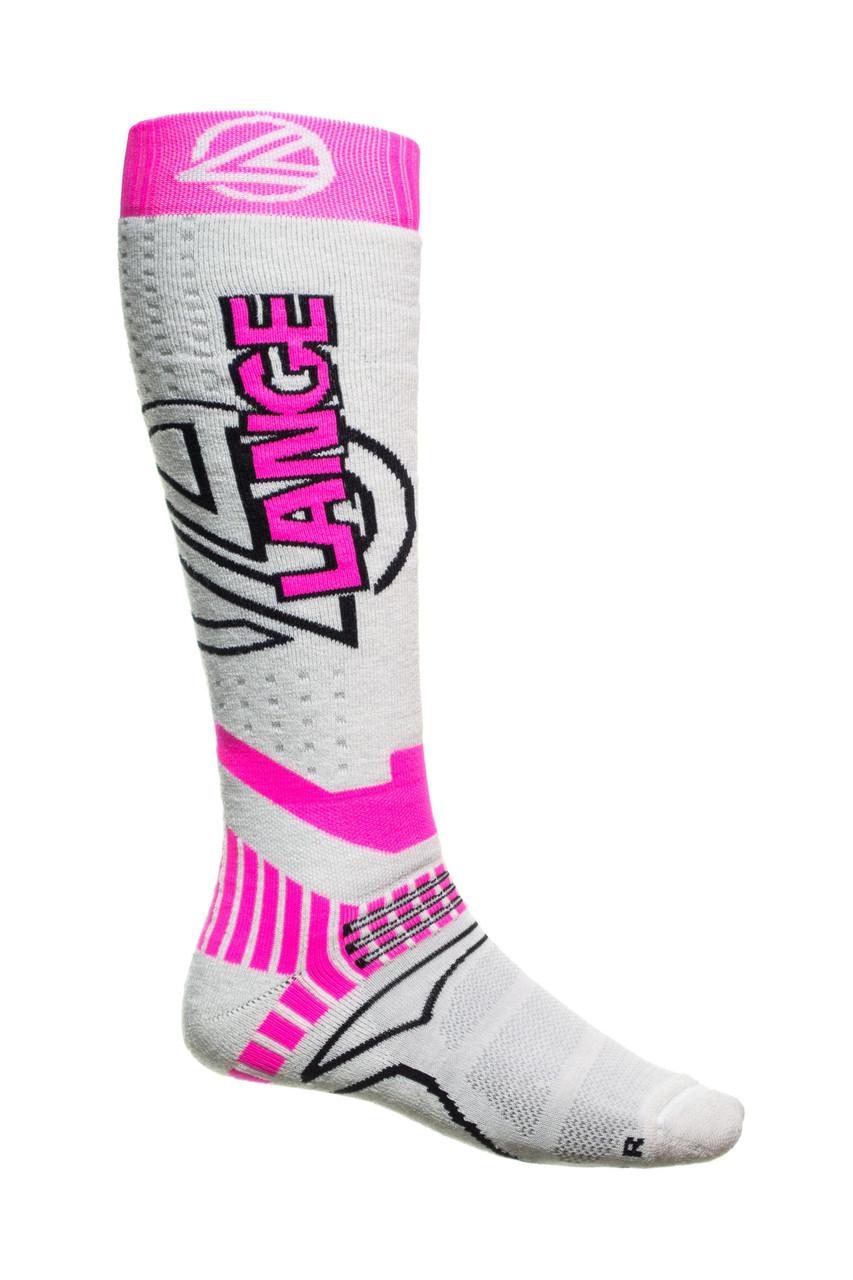 Шкарпетки лижні Lange LKDWX01 42-44 White-Pink