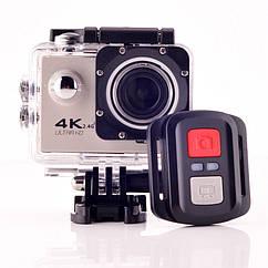 Экшн камера F60 4K с дисплеем и встроенным WI FI