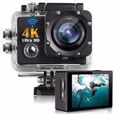 Экшн камера с пультом S3R remote Wi Fi waterprof 4K