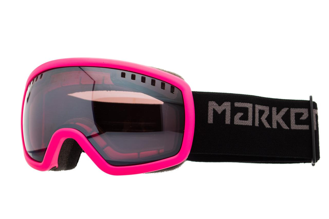 Маска гірськолижна дитяча Marker Surround Mirror S Pink