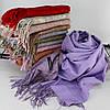 """Кашеміровий двосторонній шарф палантин """"Індіра"""" Cashmere 102009, фото 2"""