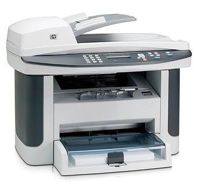 Б/У Лазерный черно-белый МФУ HP LaserJet M1522n, без лотка подачи листов и без платы подключения кабеля