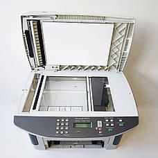 Б/У Лазерный черно-белый МФУ HP LaserJet M1522n, без лотка подачи листов и без платы подключения кабеля, фото 3