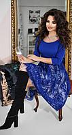 Нарядное модное красивое платье три в одном № 4166