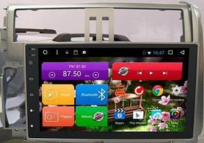 Штатная автомагнитола с GPS навигацией для автомобилей Toyota Prado 150 (2009-2013) Android 5.0.1