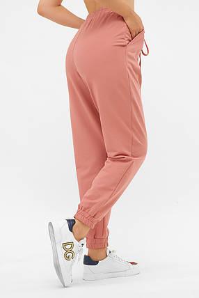 Свободные спортивные брюки с манжетами  размеры S(44), M(46), L(48), XL(50), фото 2