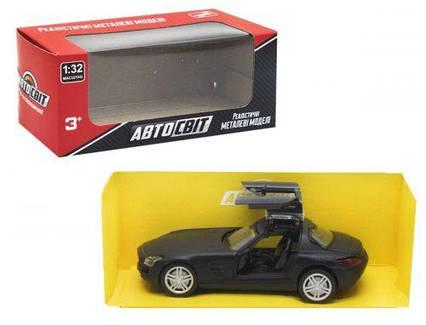 "Машина ""Mercedes SLS"" чёрный AS-2314"