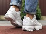 Мужские кроссовки Fila Disruptor 2 (белые) 9841, фото 2