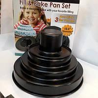 Форма для выпечки 4х ярусный торт, фото 1
