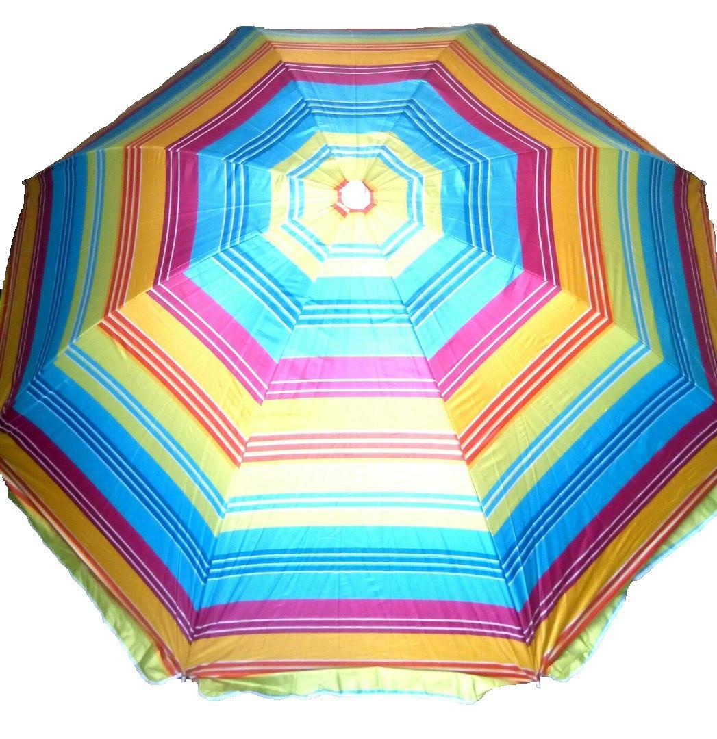 Пляжный зонт Umbrella пальмы 180 см с защитой от ультрафиолетового излучения Anti-UV