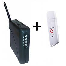 3G модем ZTE AC81B + WiFi-роутер Unefon MX-001
