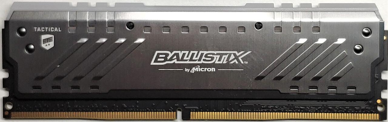 Память для ПК DDR4 8GB 3200 MHz Crucial Ballistix Tactical Tracer RGB BLT8G4D32AET4K