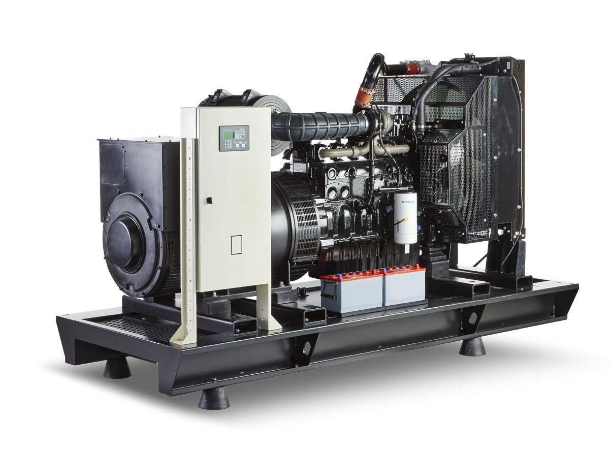 Дизельний генератор Current CR-150 (108 кВт) + підігрів і автоматичний запуск