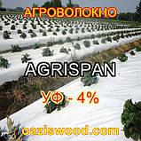 Агроволокно чорне-біле 1.6х100 UV-P 4% AGRISPAN-АГРИСПАН Польська якість за доступною ціною., фото 2