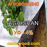 Агроволокно чорне-біле 1.6х100 UV-P 4% AGRISPAN-АГРИСПАН Польська якість за доступною ціною., фото 3