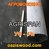 Агроволокно чорне-біле 1.6х100 UV-P 4% AGRISPAN-АГРИСПАН Польська якість за доступною ціною., фото 5