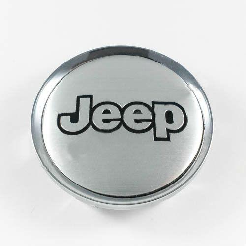 Колпачок для диска   Jeep серебро/хром лого для дисков Rial Alutec N32 (64 мм)