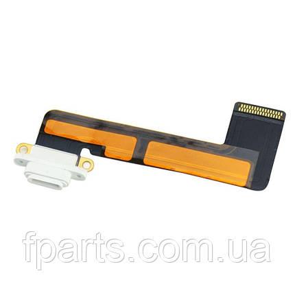 Шлейф iPad Mini, коннектор зарядки, White, фото 2