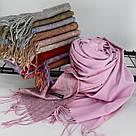 """Кашемировый двусторонний шарф палантин """"Индира"""" Cashmere 102001, фото 2"""
