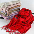 """Кашемировый двусторонний шарф палантин """"Индира"""" Cashmere 102008, фото 2"""