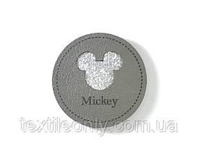 Нашивка Микки / Mickey 40х40 мм
