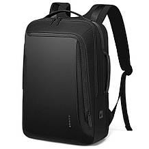 Рюкзак Bange BGS51 классический деловой влагозащищенный USB черный 30 л
