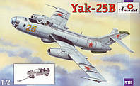 """Сборная модель """"Модель самолета Яковлев Як-25В"""""""