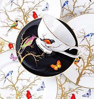 Чайный набор Золотая птица 12 пр-в 264-636