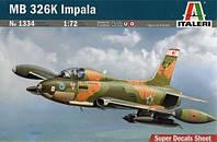"""Сборная модель """"Учебно-тренировочный самолет MB326 K Impala"""""""