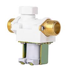 """Электрический соленоидный клапан с металлическими патрубками, 1/2"""", AC 220 В"""