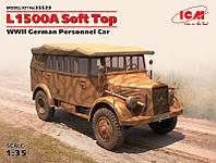 """Сборная модель  """"Германский армейский автомобиль L1500A с поднятым тентом """""""